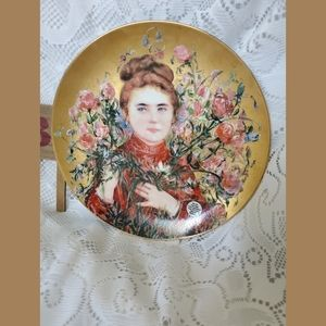 EDNA HIBEL Collectable Plate ROSE Third Edition